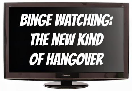 binge watching button