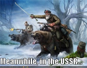 Meanwhile, in the USSR