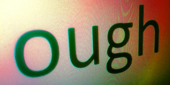 Произношение в английском языке: 6 вариантов чтения OUGH